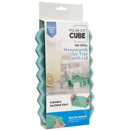 Polar Ice™ Cube No Spill Honeycomb Ice Tray With Lid-371840