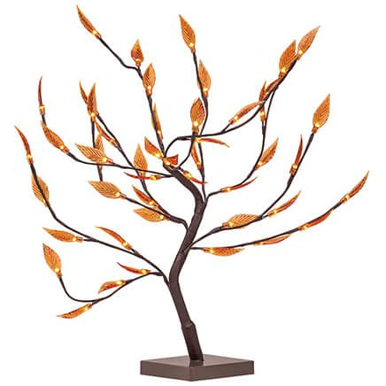 Battery-Operated Autumn Leaves Tree-371858