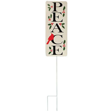 Metal Peace Yard Stake by Fox River™ Creations-371861