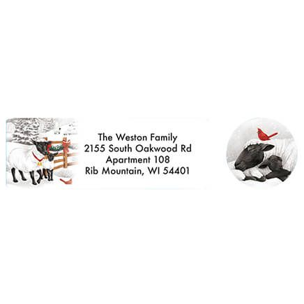 Merry Greetings Address Labels and Seals-371875