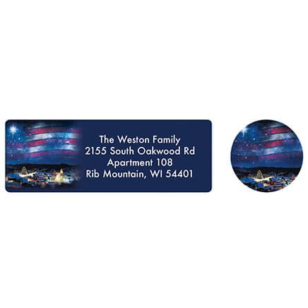 Blessings Across America Address labels and Envelope Seals-371879