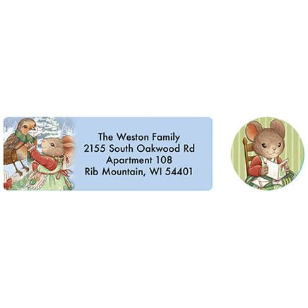 Charming Friends Address labels and seals-371880