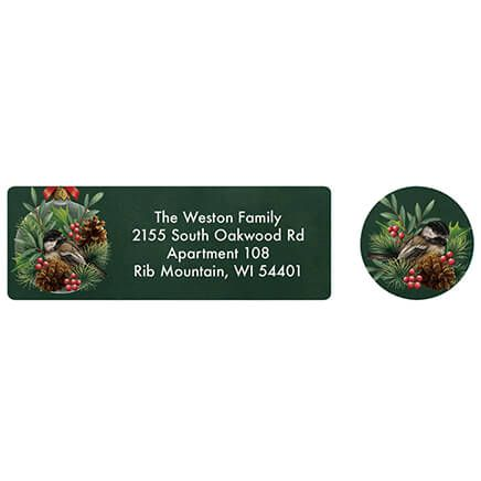 Christmas Delight Address labels and seals-371882