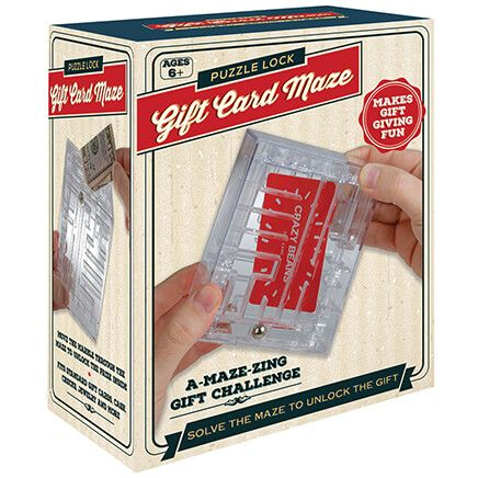 Puzzle Lock Gift Card Maze-371977
