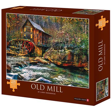 Old Mill Jigsaw Puzzle, 1000 Pieces-371980