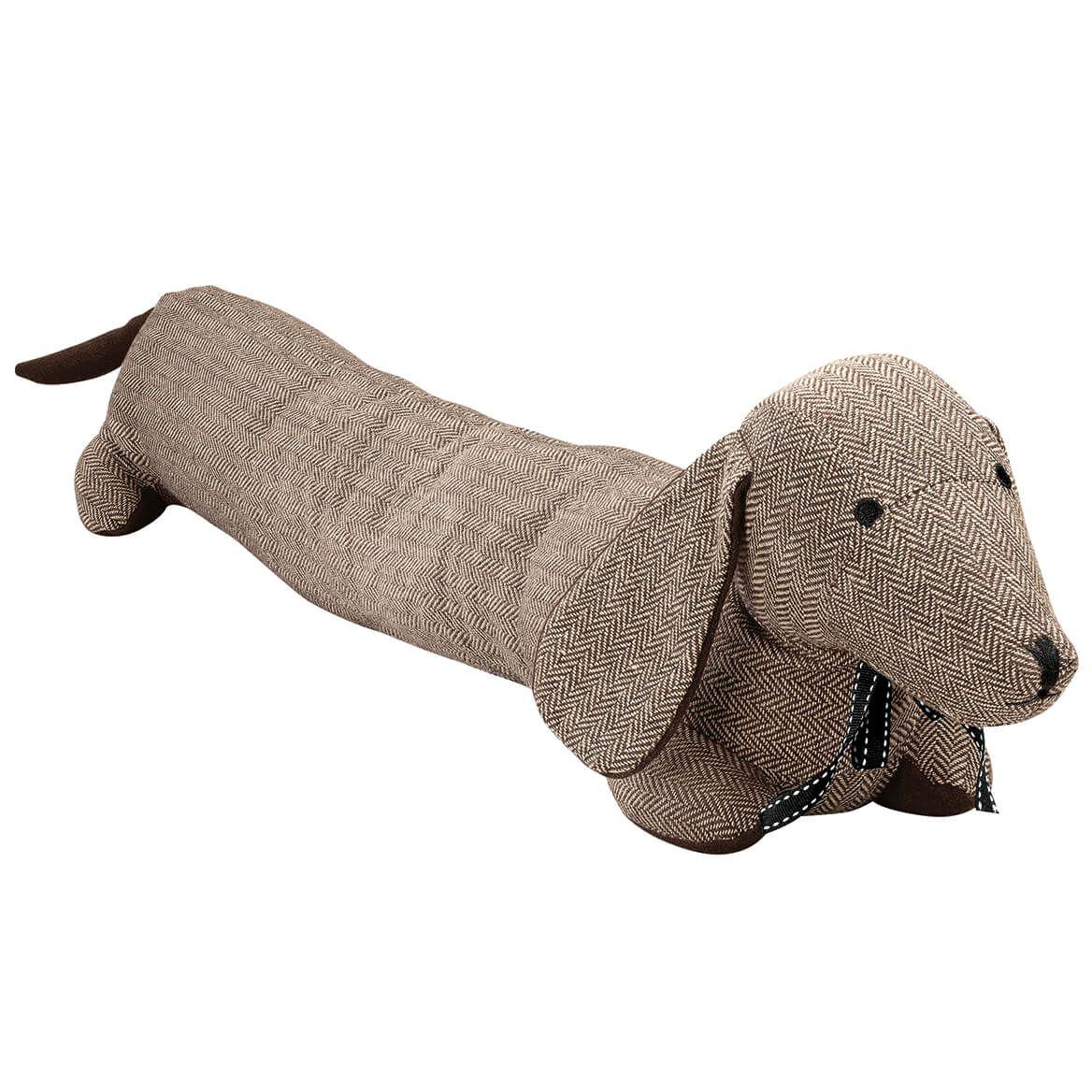 Herringbone Dog Door Draft Stopper-371991
