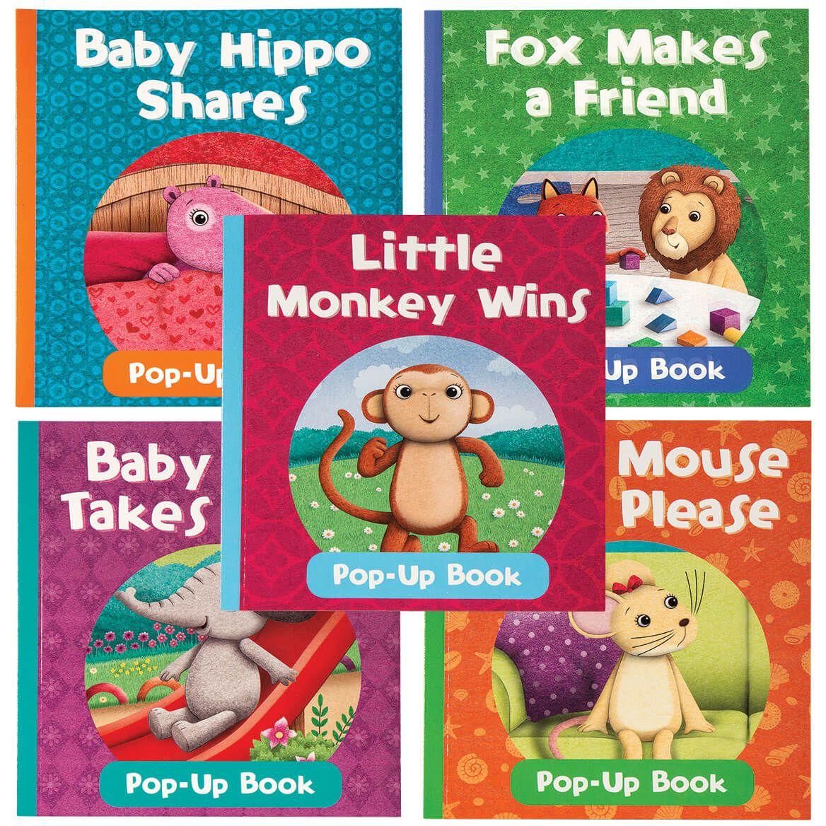 Baby Animals Pop-Up Books, Set of 5-372082