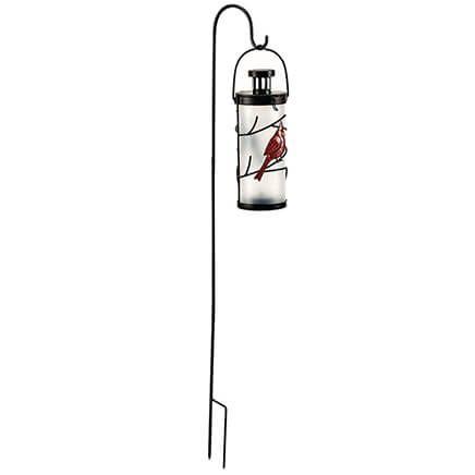 Solar Cardinal Lantern with Hook-372167