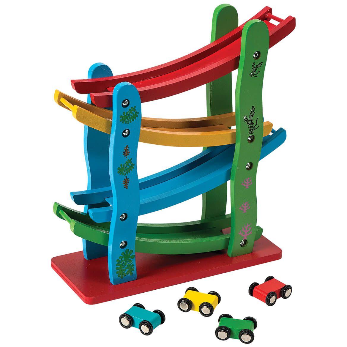 Miniature Wood Car Track-372169