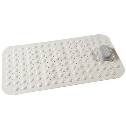 Nonslip Bath Mat with Pumice Stone-372170