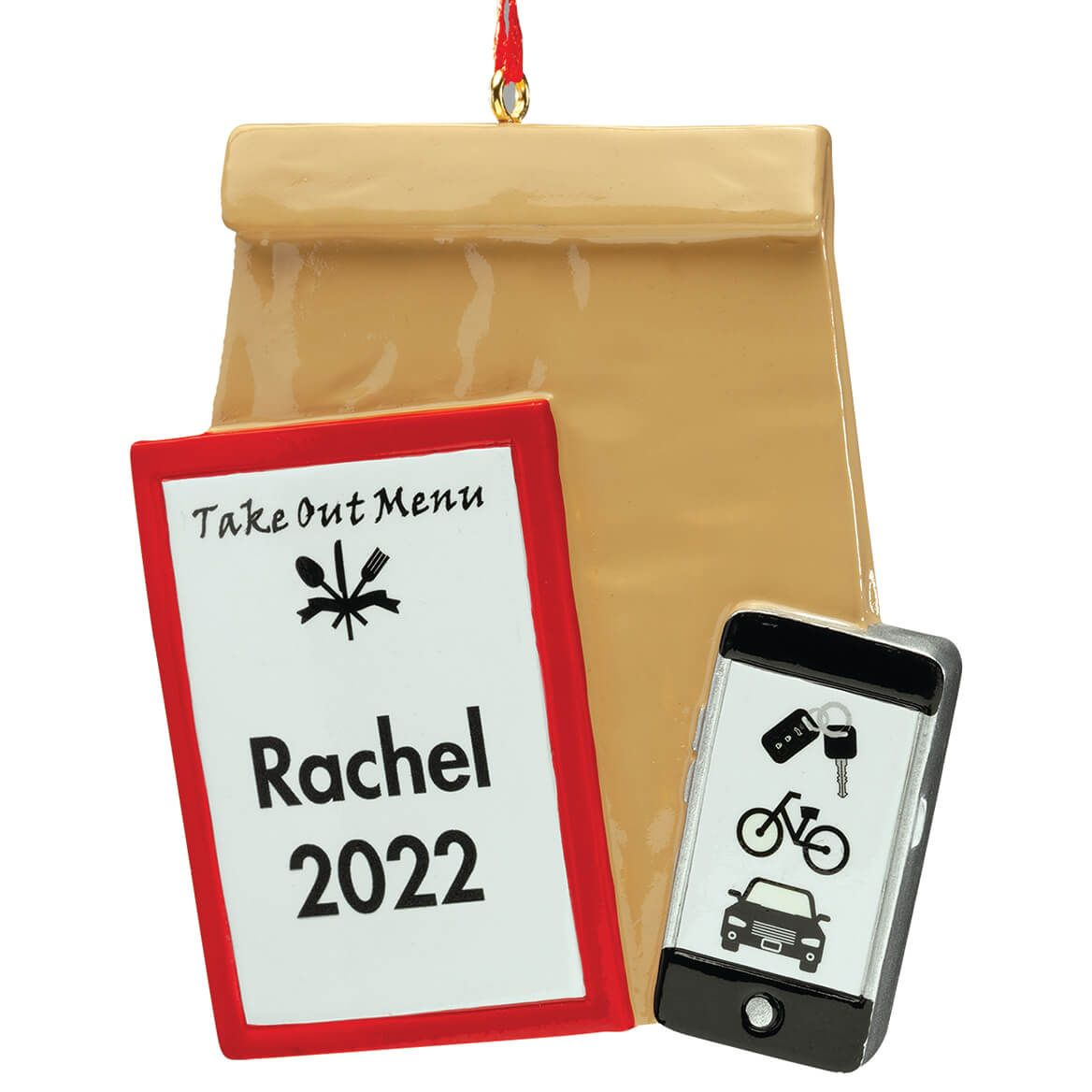 Personalized Take Out Ornament-372252