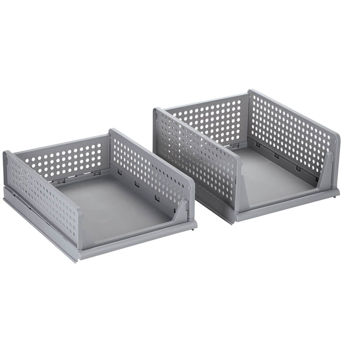 My Home™ Stacking Storage Baskets, Set of 2-372255