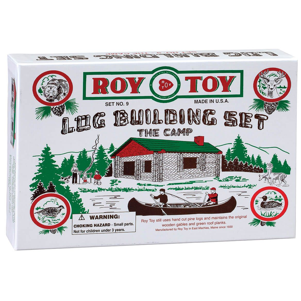 Roy Toy Log Building Set – The Camp-372314