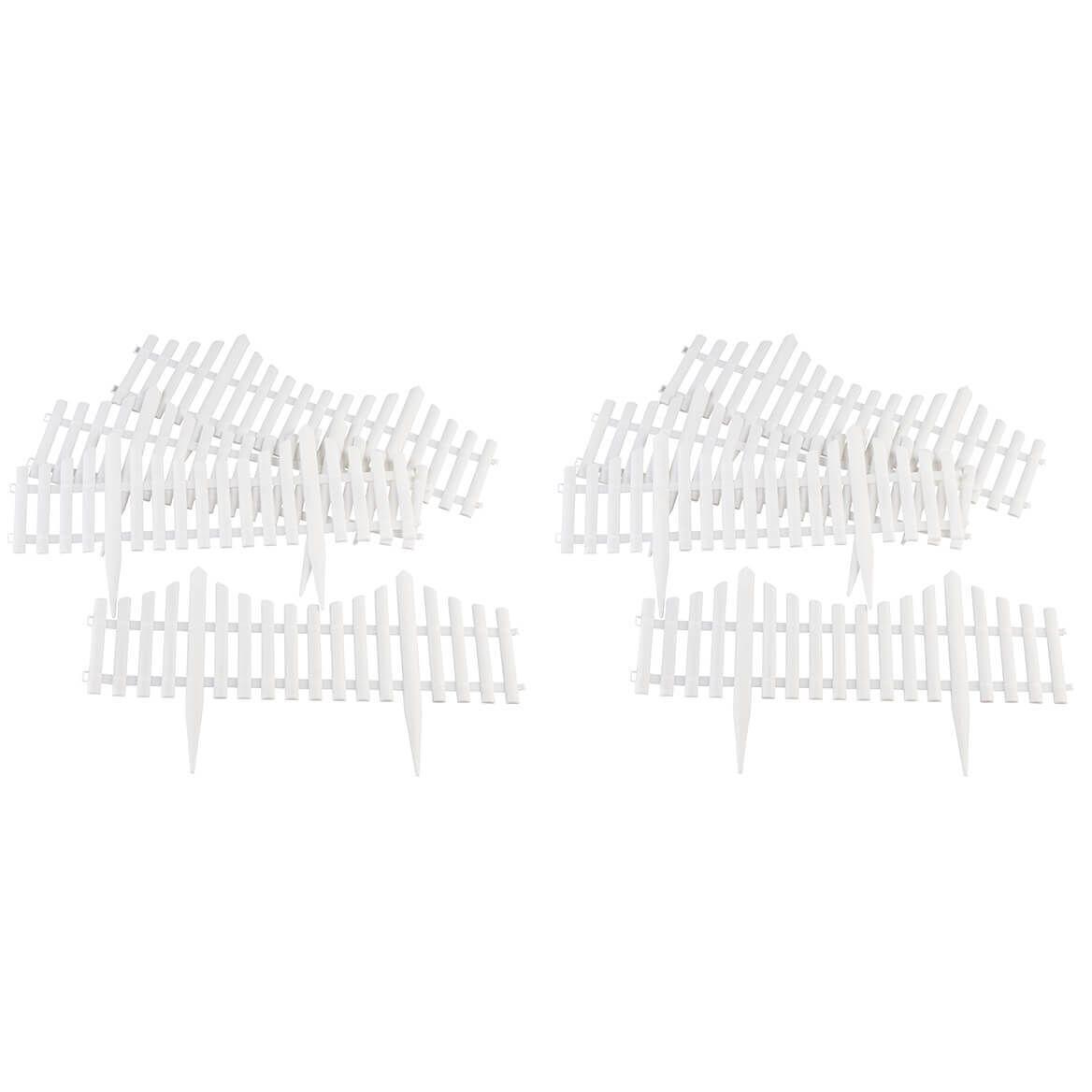 Flexible Fence Edging, Set of 8-372320
