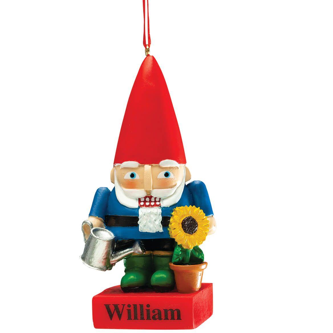 Personalized Garden Gnome Nutcracker Ornament-372365