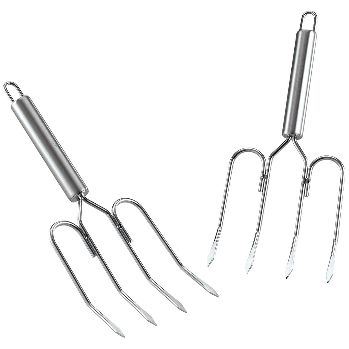 Stainless Steel Meat Lifter Forks, Set of 2-372385