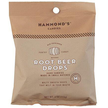 Hammonds® Candies Natural Root Beer Drops, 4 oz.-372408