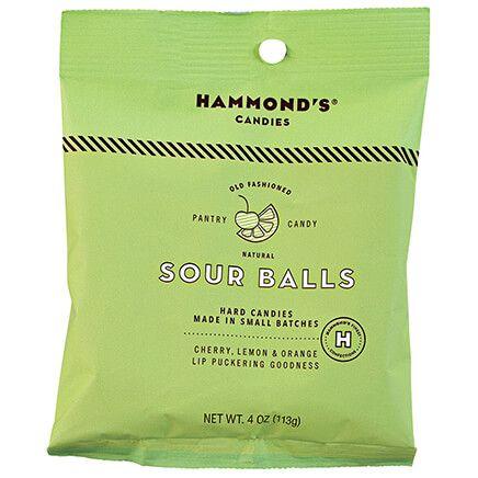 Hammonds® Candies Natural Sour Balls, 4 oz.-372409