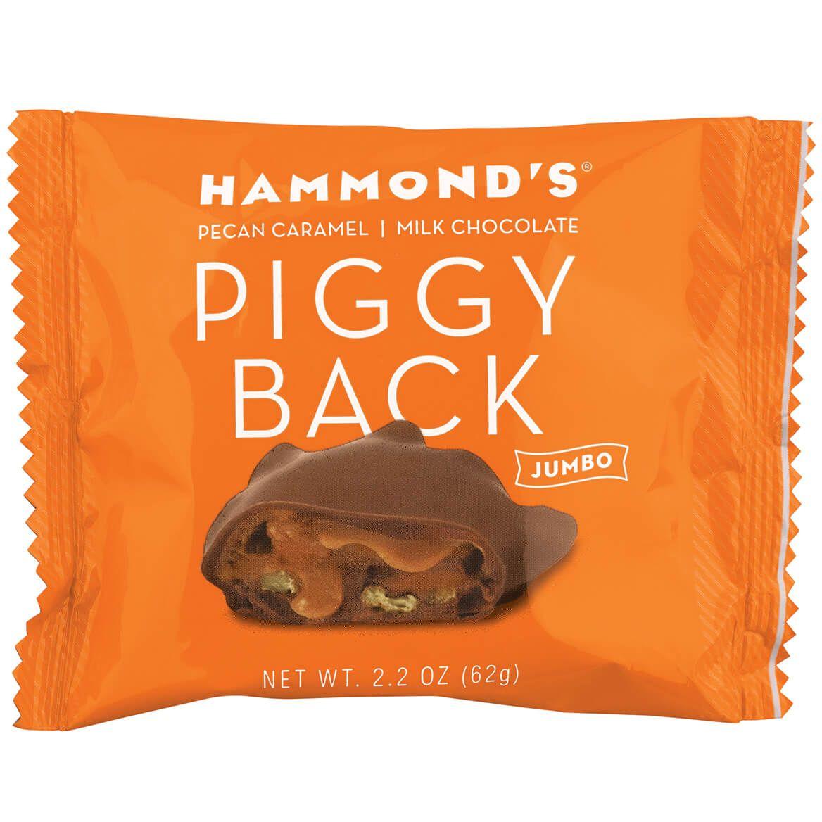 Hammonds® Jumbo Pecan Caramel Piggy Back-372412