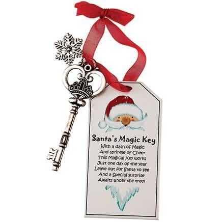 Santa's Magic Key Ornament-372416