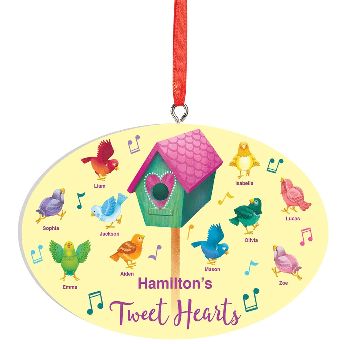 Personalized Tweet Hearts Ornament-372591