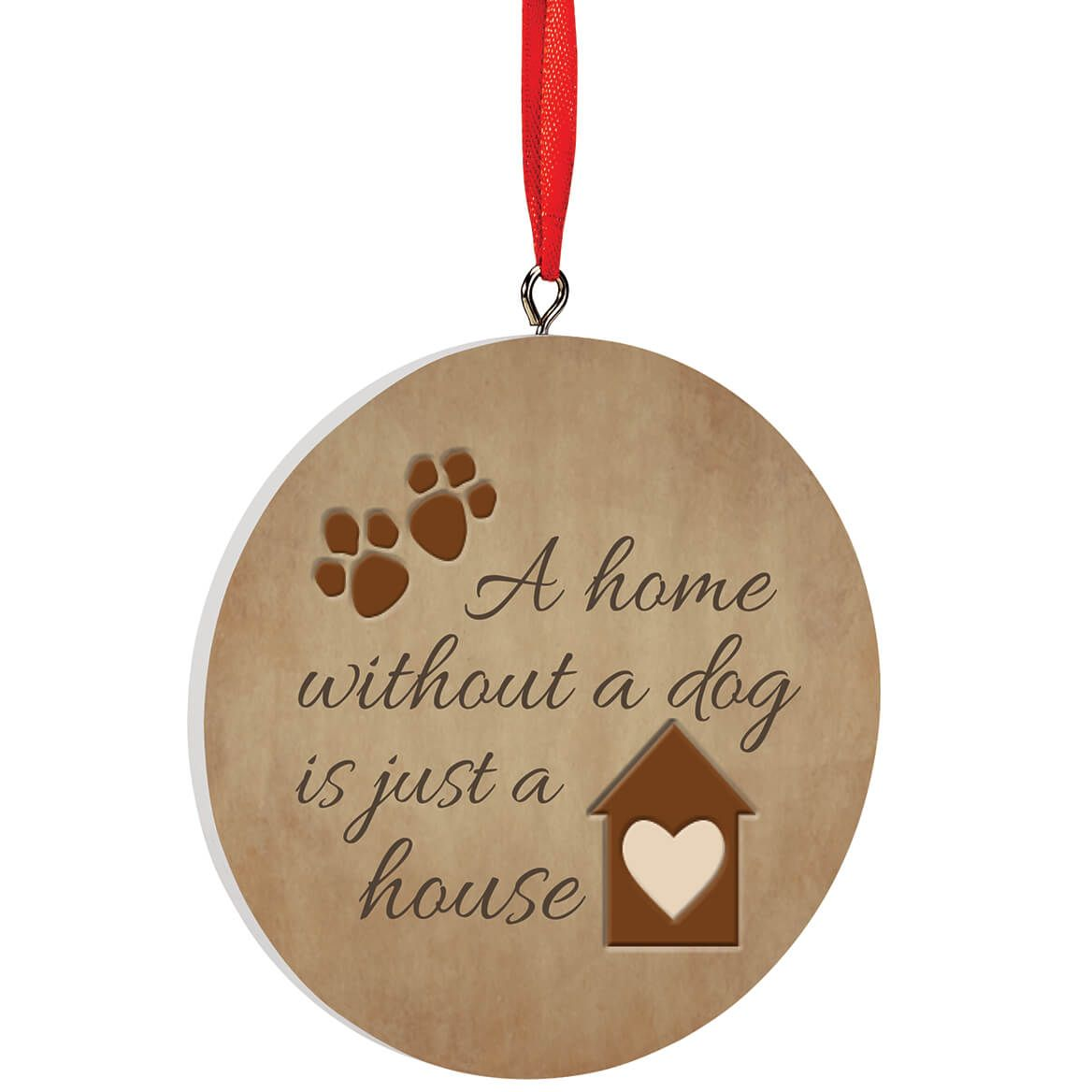 Personalized Home Without A Pet Ornament-372732