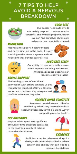 7 Tips to Help Avoid a Nervous Breakdown
