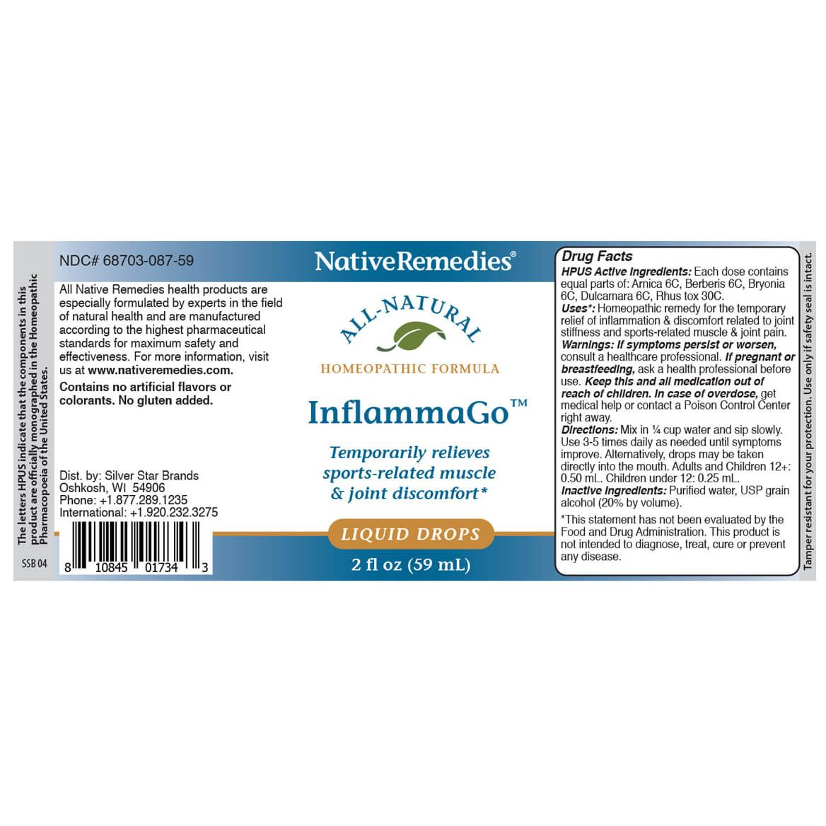 InflammaGo™ for Pain & Stiffness-350106
