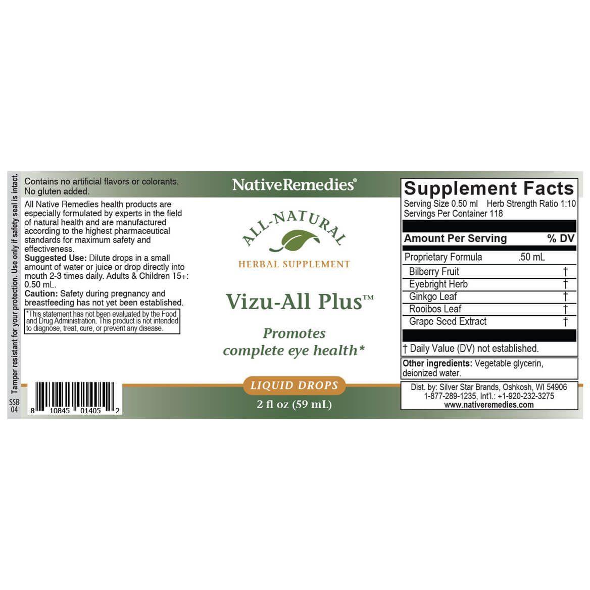 Vizu-All Plus™ for Eye Health-351875