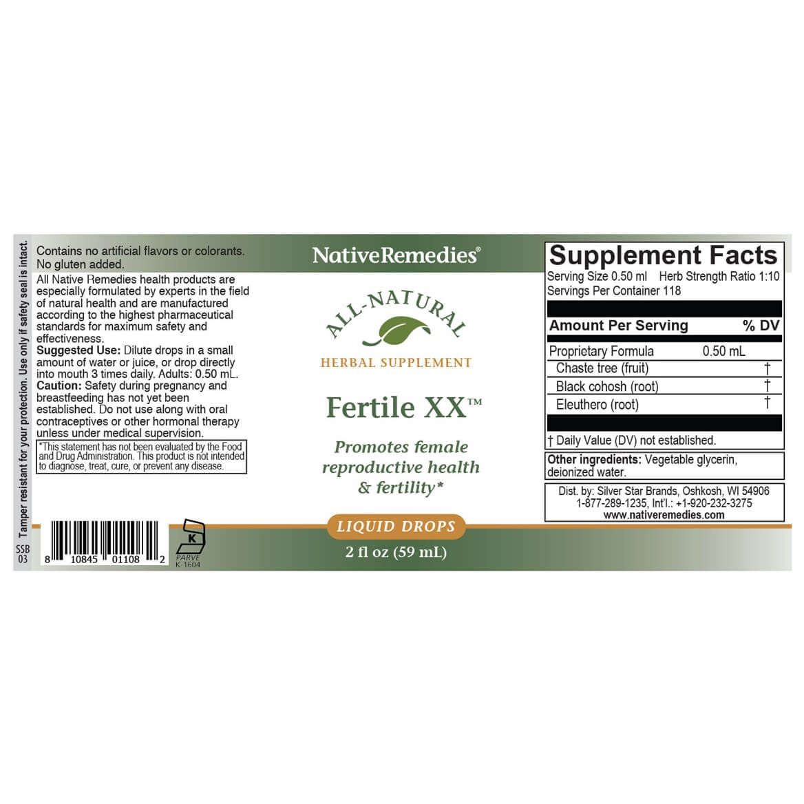 Fertile XX™ for Female Fertility Support-351889