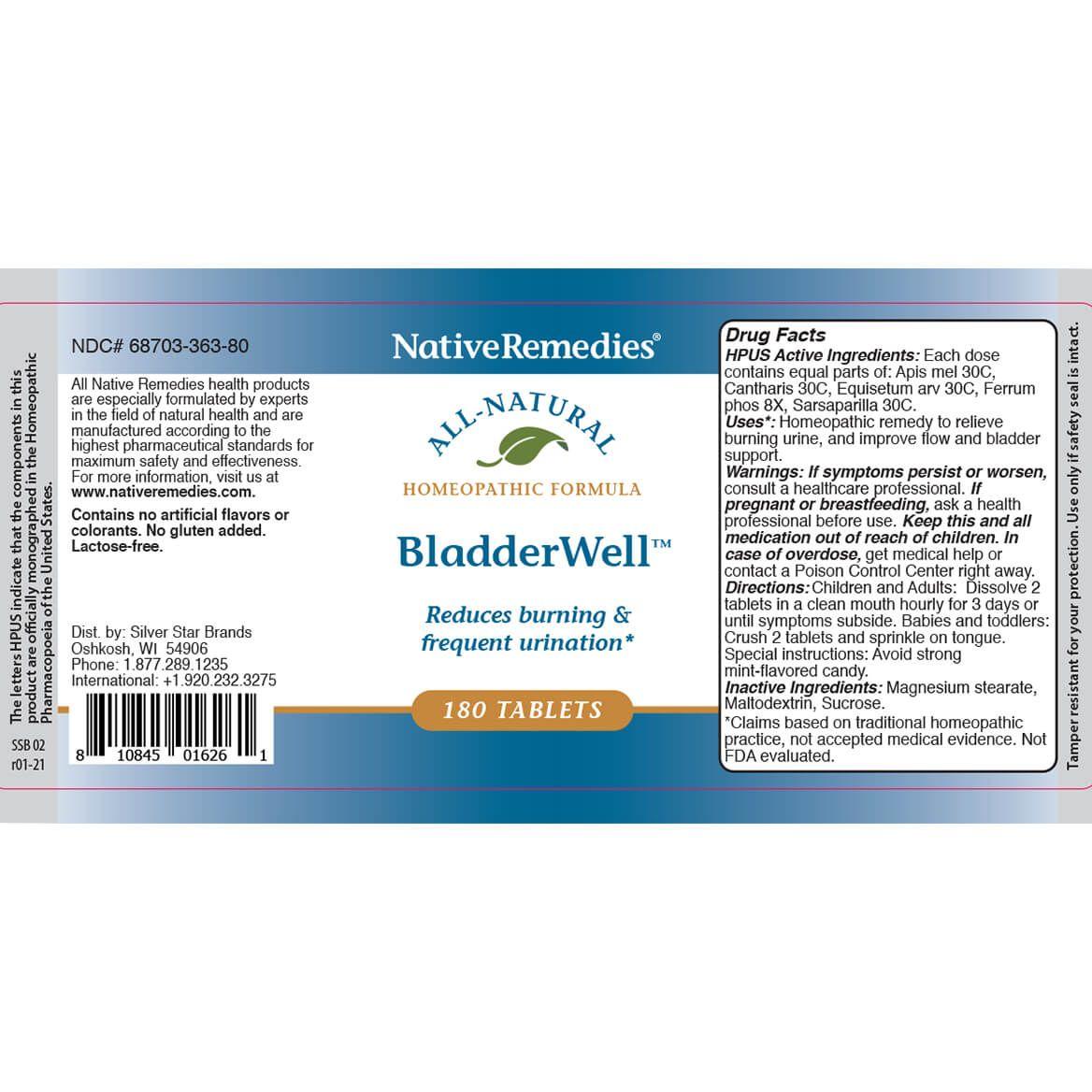 BladderWell™ Tablets for Improved Bladder Health-351944