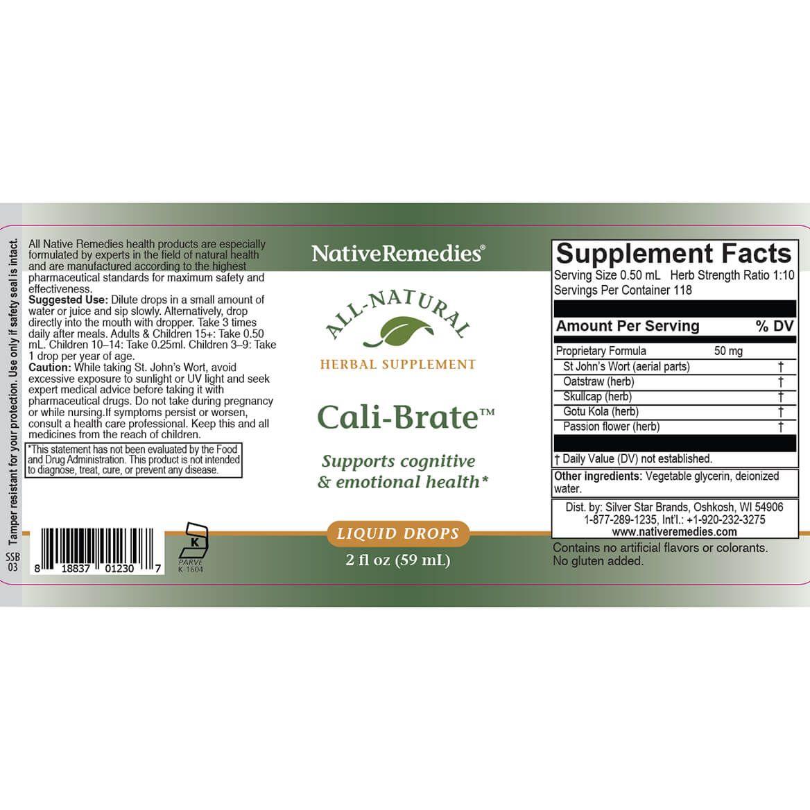 Cali-Brate™ for Brain & Emotional Balance-357155