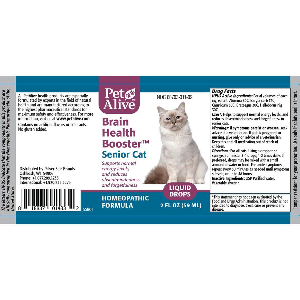 Brain Health Booster for Senior Cats™-362895