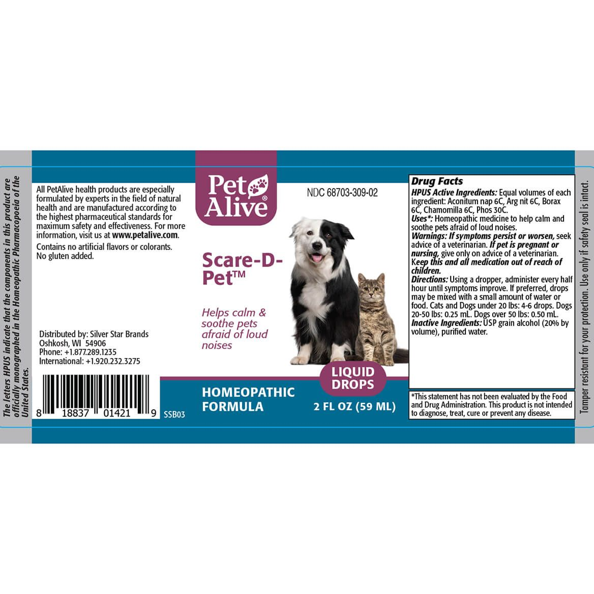 Fireworks and Storm Stress Relief ComboPack for Pets-368981