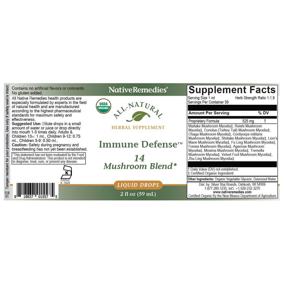 Immune Defense - 14 Mushroom Blend-370986