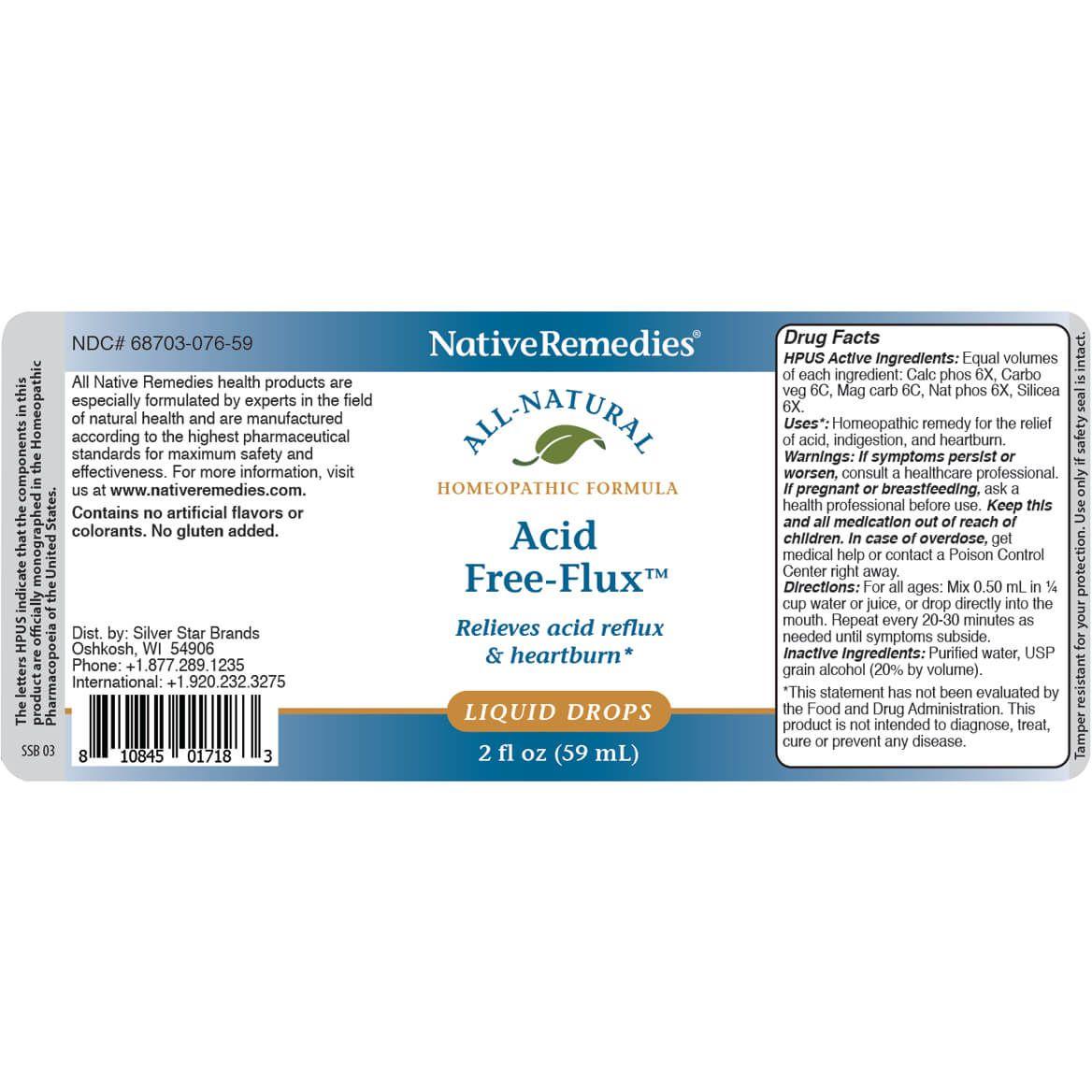NativeRemedies® Acid Free-Flux™ 2-Pack-372881