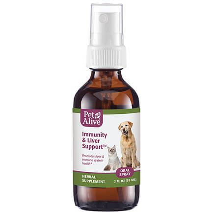 Immunity and Liver Support™ Oral Spray for Cats & Dogs-351958