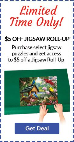 Puzzles > Buy 1 Puzzle, Save $5 on Jigsaw Roll Up