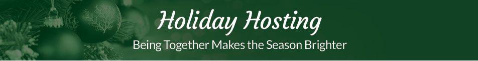 Holiday Hosting Header
