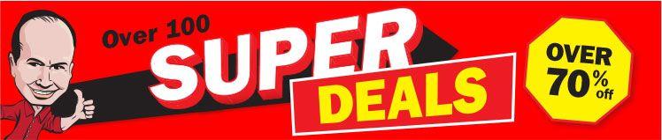 Super Deals Header - Up to 70% OFF