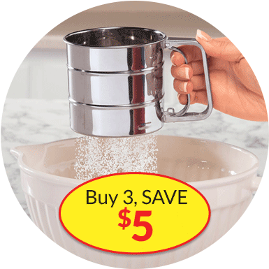 Fall Baking, Buy 3 SAVE $5 - Image