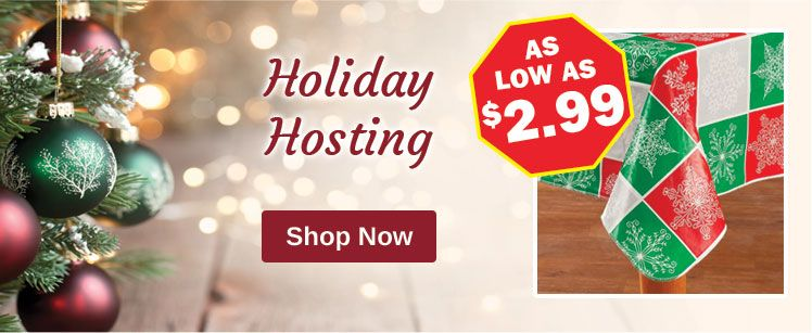 Prepare for the Holidays - Holiday Hosting