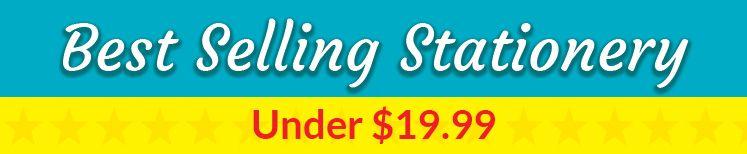 Best Selling Stationery Under $19.99 Header