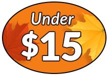 Items Under $15 Image