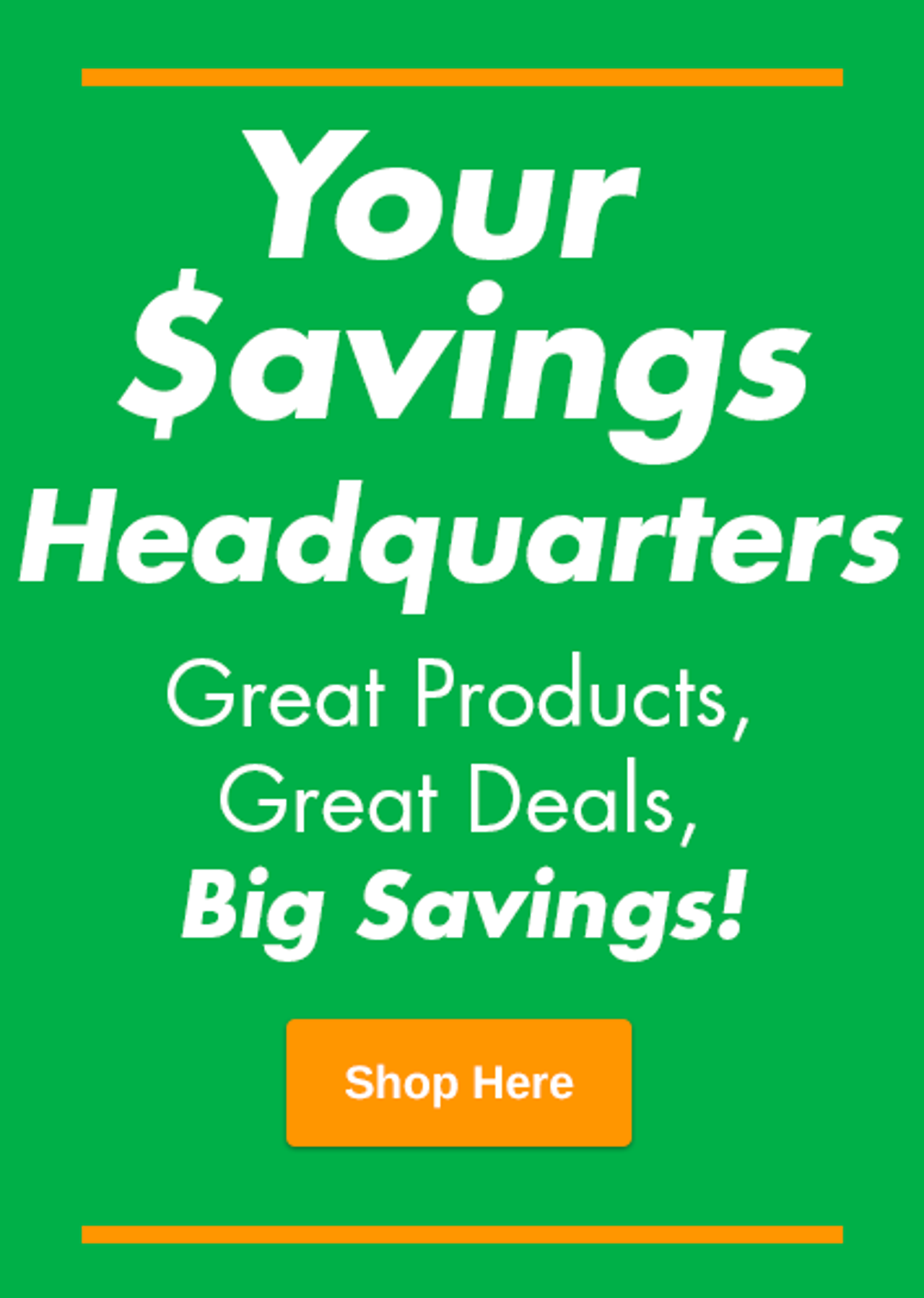 Savings Headquarters Image
