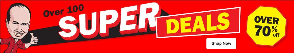 Super Deals - Up to 70% Off