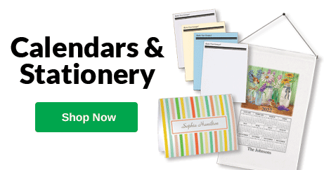 Personalized Calendars & Stationery