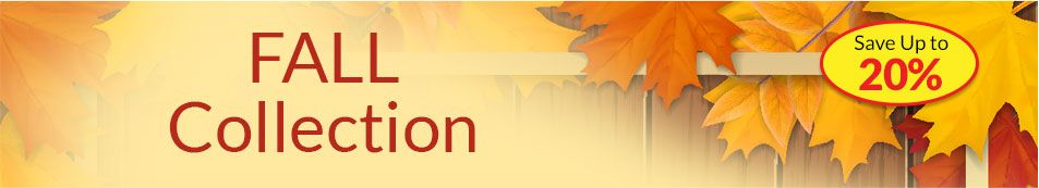 Fall Collection Header - SAVE Up to 50%