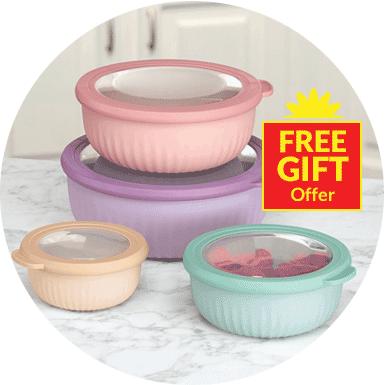 Food Storage - Free Gift Offer Image