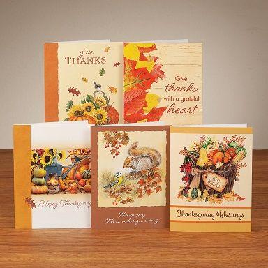 Thanksgiving Card Assortment Image
